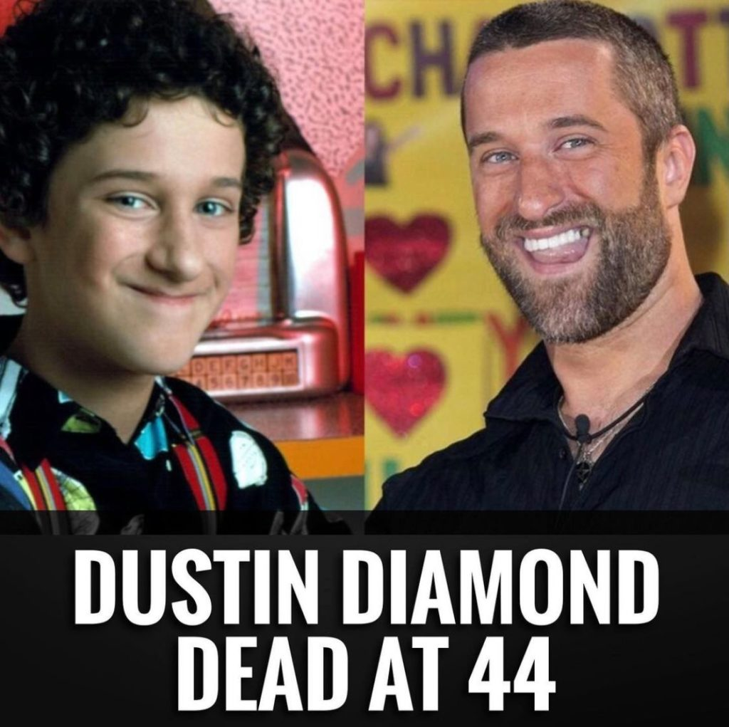 Muere a los 44 años Dustin Diamond, el actor que interpretaba a Screech en 'Salvados por la campana'